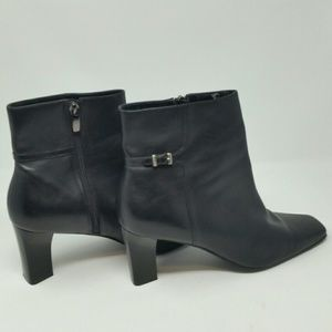 Damiani's Leather Ankle Boots, sz 10M